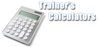 Trainer's Calculators