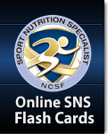NCSF Sport Nutrition Specialist DVD